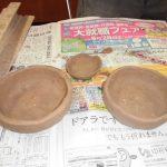 陶芸教室が行われました。