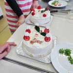 クリスマスケーキ作り教室